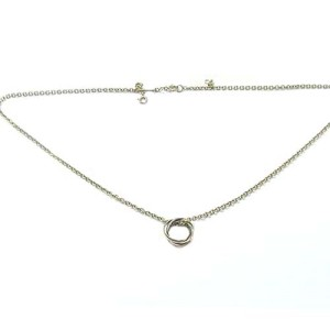 Cartier 18K Tri-Color 3 Gold Baby Trinity Necklace