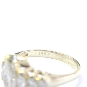 14K Yellow Gold & Diamond Band Ring