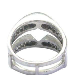 14K White Gold & Diamond Jacket Ring