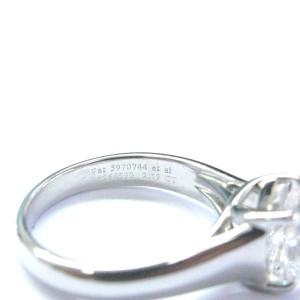 Tiffany & Co Platinum Lucida Diamond Engagement Solitaire Ring