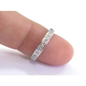 Platinum & Diamond Band Ring