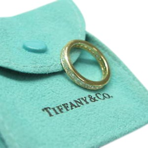 Tiffany & Co. 18K Yellow Gold Princess Cut Diamond Eternity Band