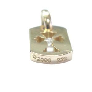 Chrome Hearts 22K Rose Gold Diamond Rose Gold Pendant