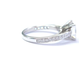 Tiffany & Co. Platinum Diamond Grace Engagement Ring