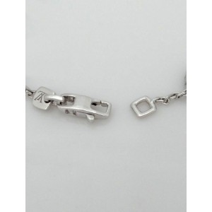 Louis Vuitton 18k White Gold 3.00 Ct Diamond Blossom Bracelet