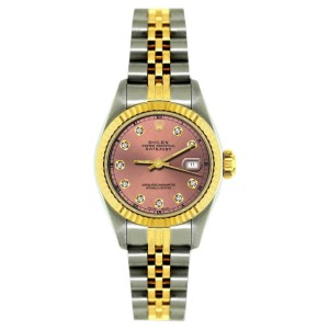 Rolex Datejust 18K Yellow Gold & Stainless Steel 26mm Watch