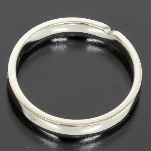 Hermes Pt950 Platinum Band Ring