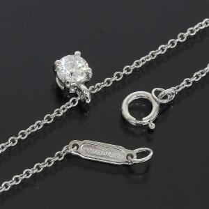 Tiffany & Co. 950 Platinum & 0.24ct Diamond Necklace
