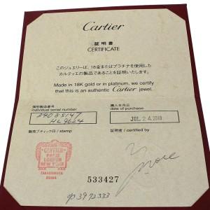 Cartier Mini Love Ring White Gold Size 4.25