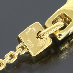 Louis Vuitton 18K Yellow Gold Chain Bracelet Bangle