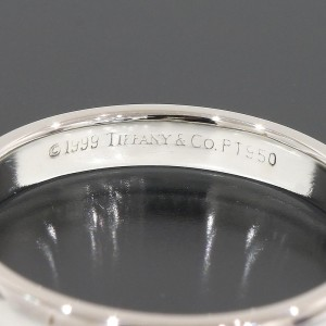 Tiffany & Co. Platinum Wedding Band Ring