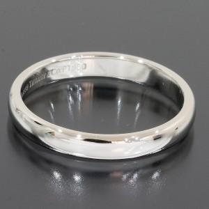 Tiffany & Co. 950 Platinum Wedding Band Ring Size 7.5