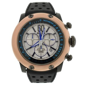 Glam Rock Black Race Track Chronograph 50mm Watch