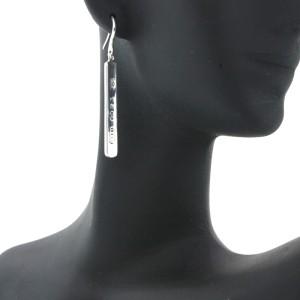 Tiffany Bar Drop Earrings