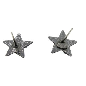 Chanel Black Star CC Diamond Studs