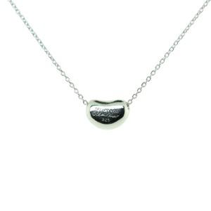 Tiffany Bean Pendant Necklace