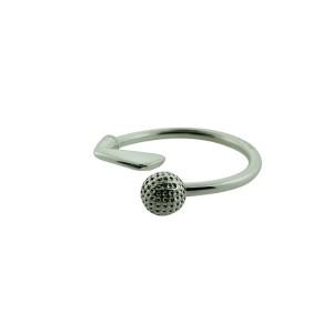 Tiffany Golf Ball Key Ring