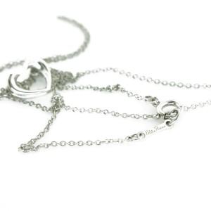 Tiffany & Co. Paloma's Tenderness Open Heart Pendant Necklace