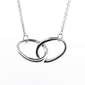 Tiffany & Co. Interlocking Ovals Necklace