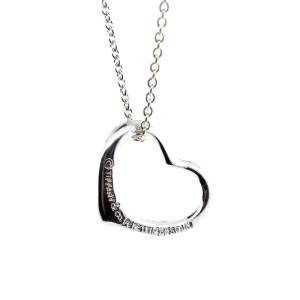 Tiffany & Co. Peretti Open Heart Small Necklace