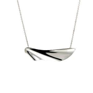 Tiffany & Co. Island Half Wave Necklace