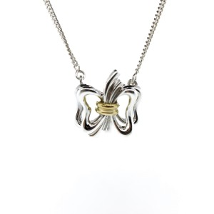 Tiffany & Co. Butterfly Pendant Necklace