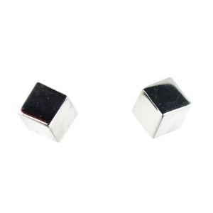 Tiffany & Co. Silver Cube Earrings