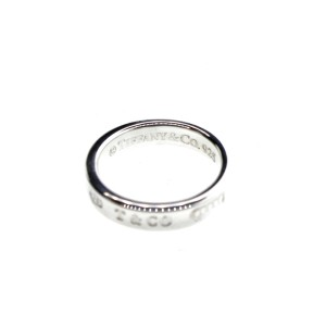 Tiffany & Co. 1837 Silver Ring