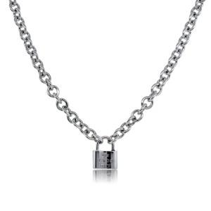 TIiffany & Co. 1837 Lock Charm Necklace