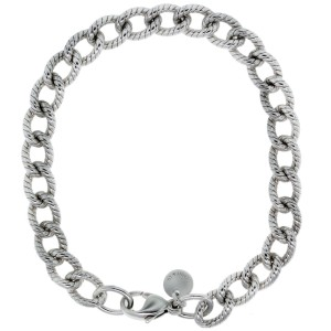 Tiffany Sterling Silver 2mm Cable Link Bracelet
