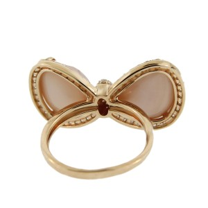 14K Rose Gold Bow Tie Cocktail Ring