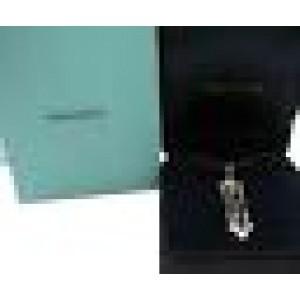 Tiffany & Co. Platinum Legacy Triple Bar Drop Pendant