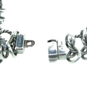 David Yurman Sterling Silver Prasiolite Stone Necklace