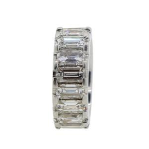 Emerald Cut Diamond Eternity Band Ring