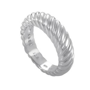 Boucheron 18K White Gold Band Ring