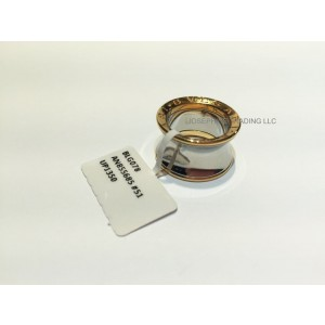 Bvlgari Bulgari Anish Kapoor B. Zero 1 Steel and Rose Gold Ring