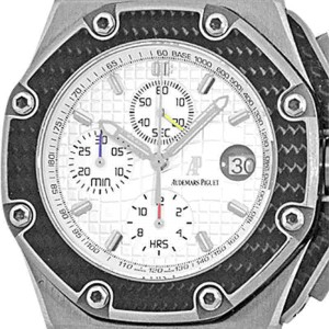 "Audemars Piguet ""Royal Oak Offshore Juan Pablo Montoya"" Chronograph Titanium Watch"