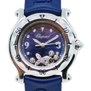 Chopard Happy Beach 27/2823 Stainless Steel & Rubber 26mm Watch