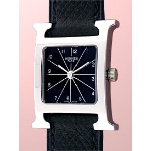 "Hermes ""H-Our"" Stainless Steel Strapwatch"