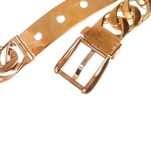 Gucci Massive Runway Chain Belt Necklace