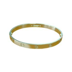 Cartier Love Bracelet Yellow Gold Size 20