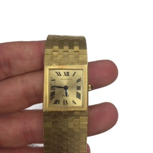 Bulgari Piaget 18K Yellow Gold Watch