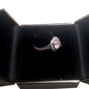 Tiffany & Co. Platinum Legacy Inspired Engagement Ring