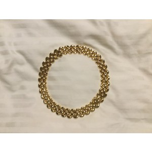 Cartier 18K Yellow Gold Half Moon Necklace