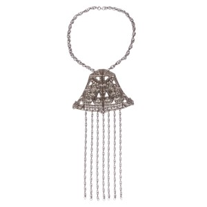 Etruscan Inspired Tassel Necklace