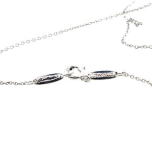Tiffany & Co. Infinity Cross Pendant Necklace