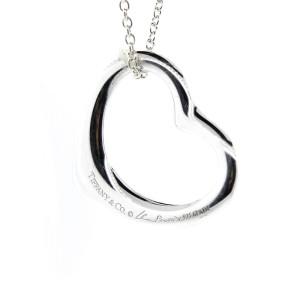 Tiffany & Co. Paloma Picasso Open Heart Pendant Necklace