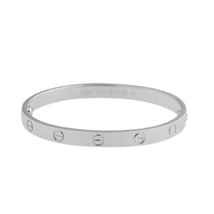 Cartier Love B6035417  Bracelet White Gold Size 17