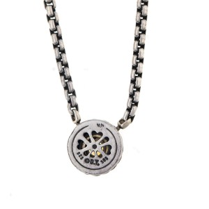 David Yurman Sterling Silver Citrine Pendant Necklace