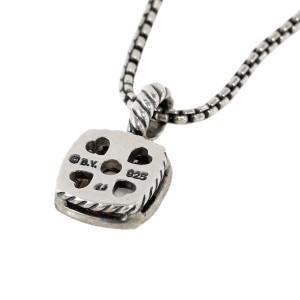 David Yurman Diamond White Chalcedony Albion Necklace